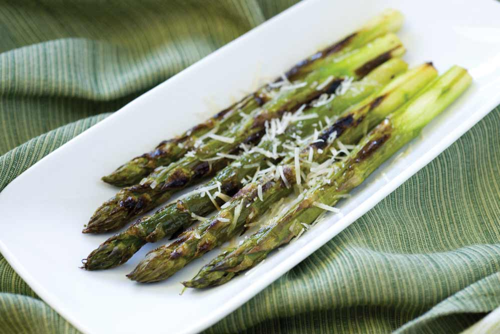 Roasted Asparagus with Parmigiano