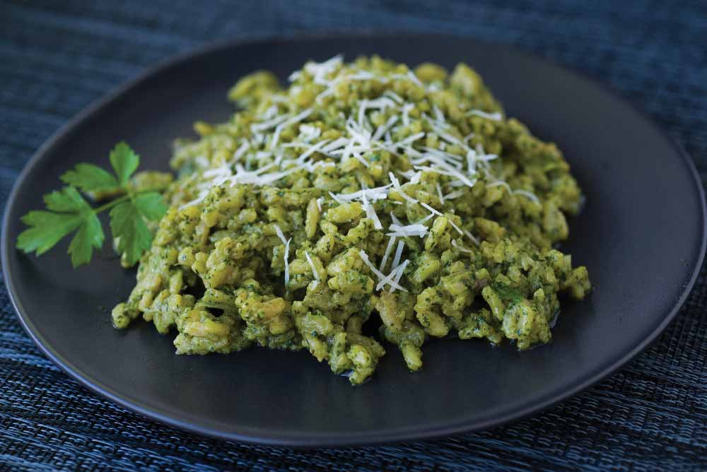 Five-Herb Risotto