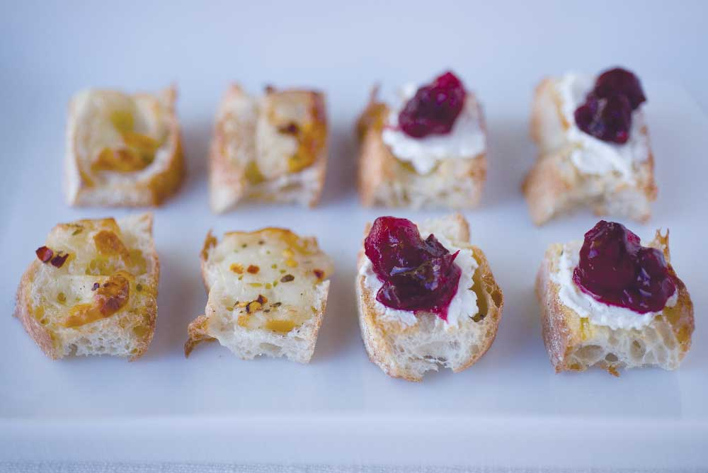 crostini finger foods