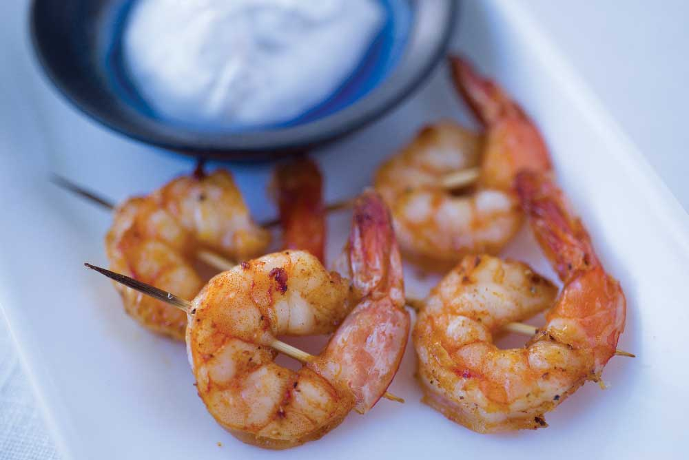 shrimp finger foods