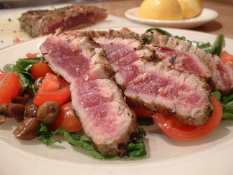 Timorese Grilled Tuna Steaks with Garlic and Butter | Global Table ...