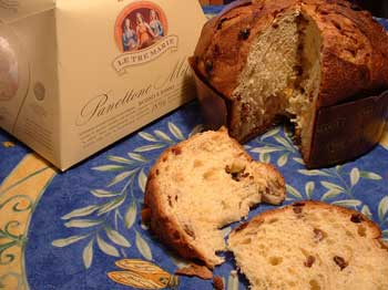 Panettone, the classic bread from Milan