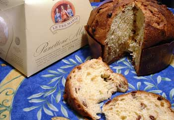 panettone is  a Christmas staple in Italy