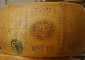 Parmigiano - the king of Italian cheeses