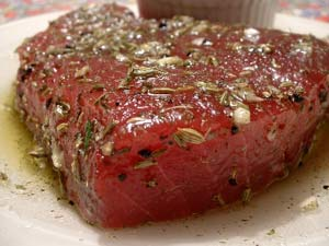 Spice-Rubbed Tuna Steak