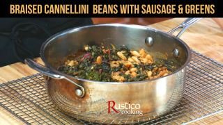 Cannelli Bean Sausage Greens