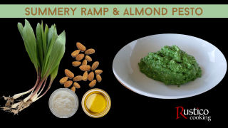 ramp almond pesto