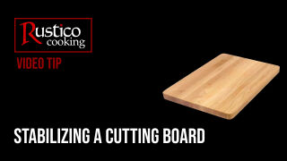 stabilizing a cutting board