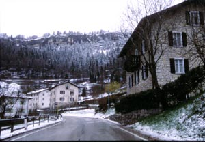 In mid-March, Trentino-Alto Adige is blanketed in snow.
